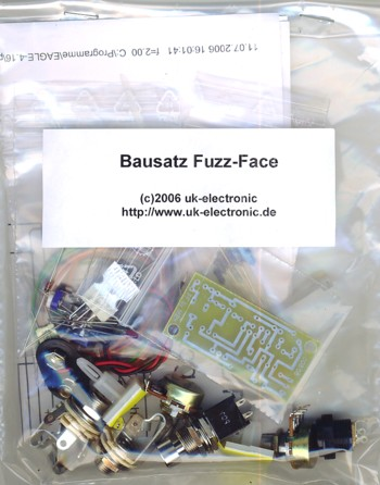 Kit Fuzz Face germanium