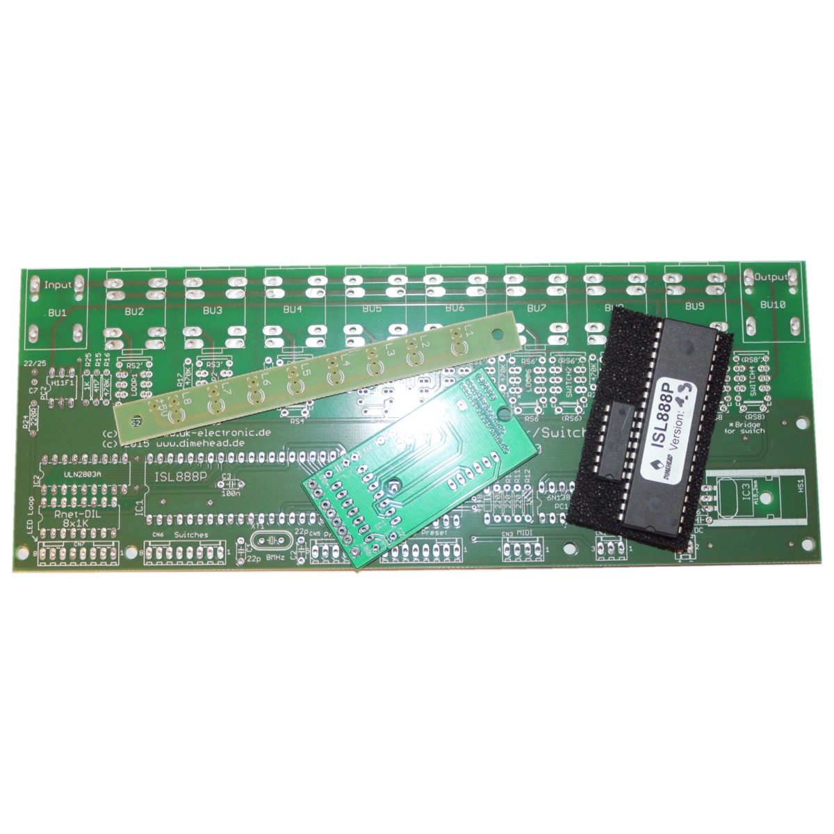 Pcb kit 8-way looper ISL888p with controllers